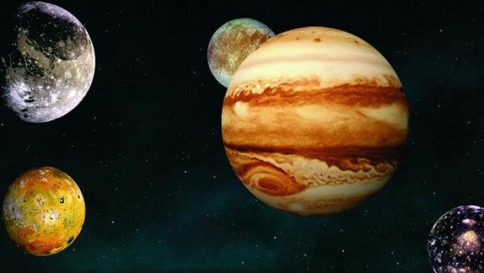 З'ясувалося, що супутники Юпітера можуть зігрівати один одного