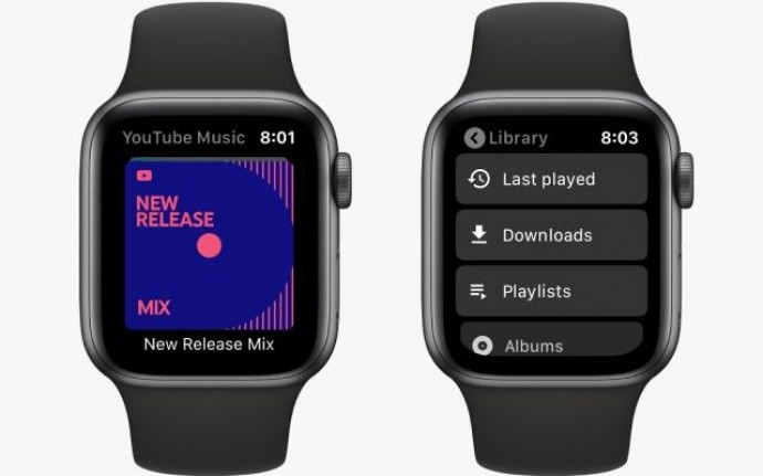 Годинники Apple Watch отримали YouTube Music