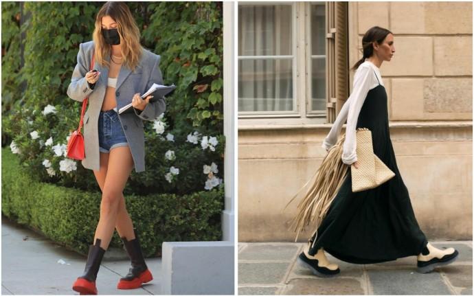 Ботинки-челси Bottega Veneta - главная обувь этого сезона