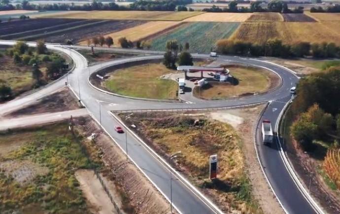 Біля Вінниці завершили ремонт частини об'їзної дороги (Відео)