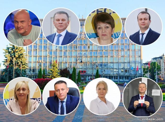 ЦВК зареєструвала 10 кандидатів на посаду міського голови Вінниці (Фото)