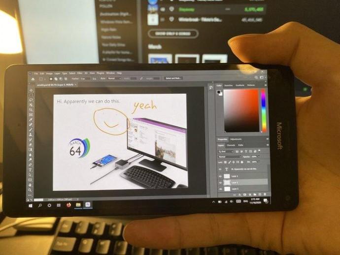 Опубліковано зображення смартфона Microsoft Lumia з Windows 10