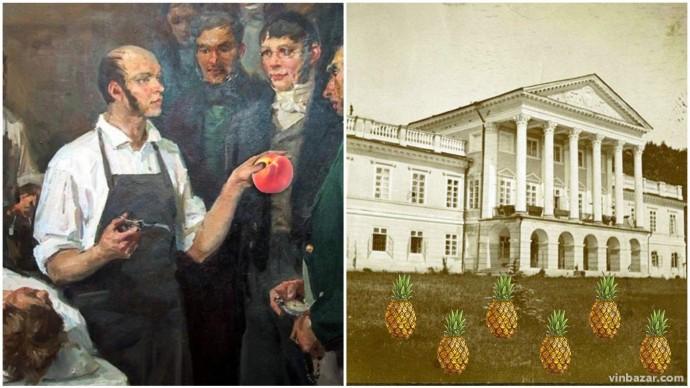 У палаці Грохольських вирощували ананаси, а Пирогов доглядав оранжерею з персиками (Фото)