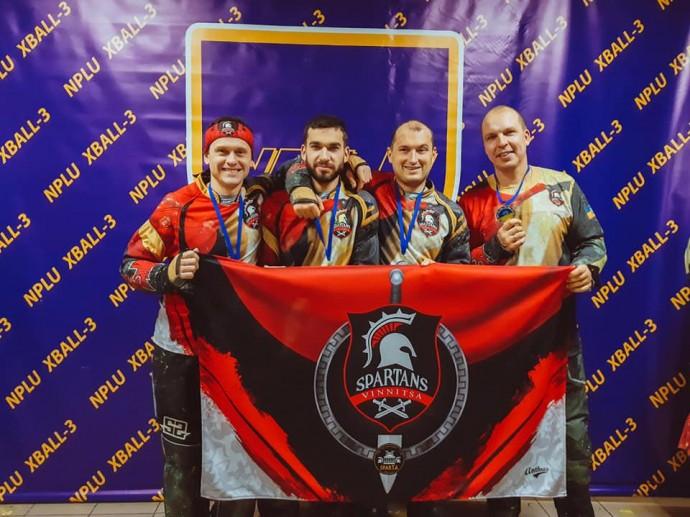 Команда з Вінниці пробилася до першого дивізіону Національної пейнтбольної ліги України
