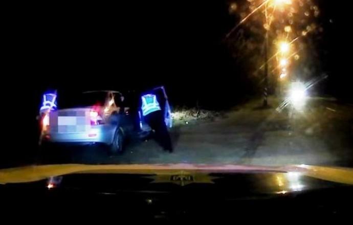 На Вінниччині водій влаштував нічні перегони з патрульними (Відео)