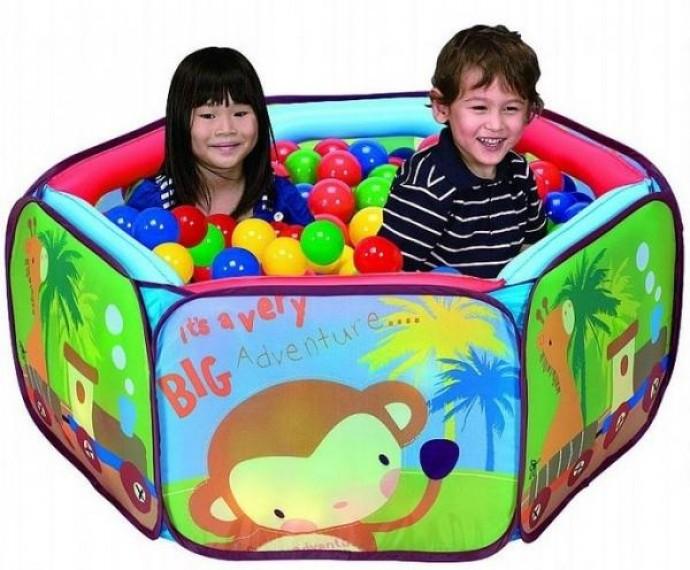 Сухие бассейны с шариками для детей по низким ценам!