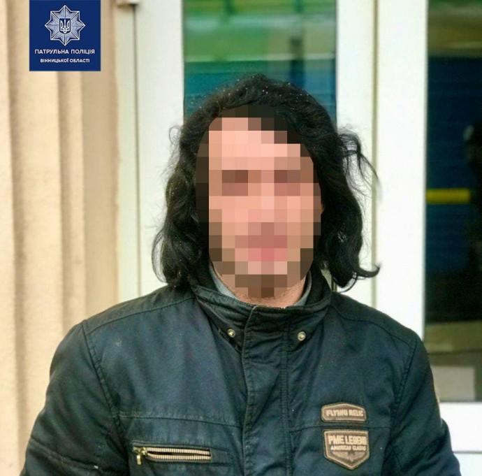 У Вінниці затримали чоловіка, який 9 років переховувався від поліції