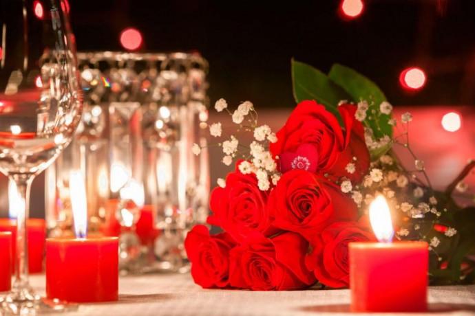 Дарим цветы на День Валентина