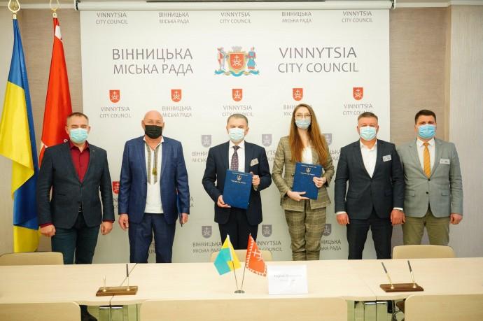 Вінниця стане першим містом в Україні, де учасників індустріального парку безкоштовно підключатимуть до мереж електропостачання