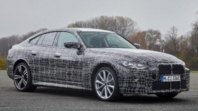 BMW i4 готовится войти в серию