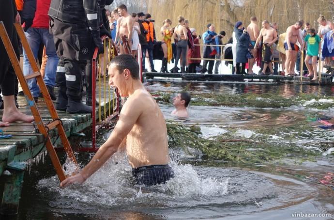 У Вінниці не організовуватимуть масових святкувань на Водохреща