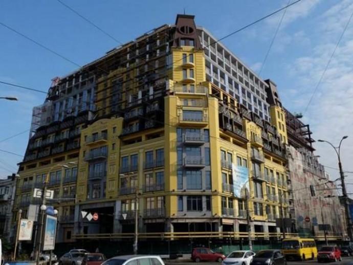 Киев одержал победу в деле о сносе лишних этажей в ЖК на улице Нижний Вал