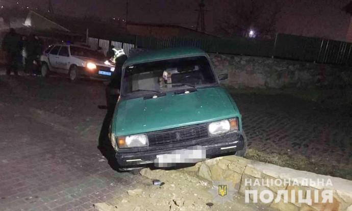 На Вінниччині 22-річний хлопець потрапив у ДТП на викраденій автівці