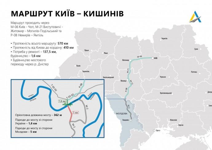 У будівництві мосту через Дністер, який з'єднає Ямпіль та молдавське місто Косеуць, зробили