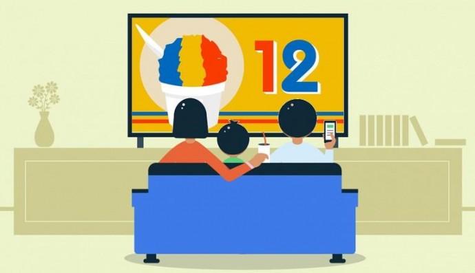 Google запускає першу тестову версію Android TV 12