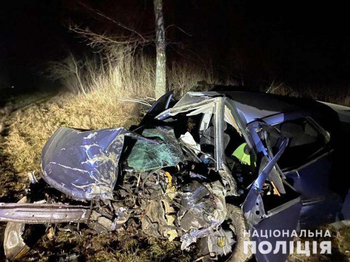 Біля Калинівки Opel Vectra злетів у кювет. Загинув 31-річний водій