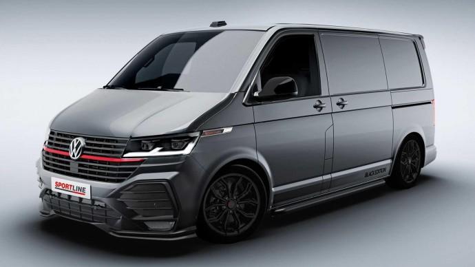 Лучший Volkswagen Transporter показали на первых фото