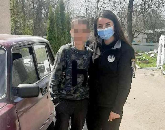 На Вінниччині розшукали 13-річного хлопця, який після сварки з вчителем, не повернувся додому
