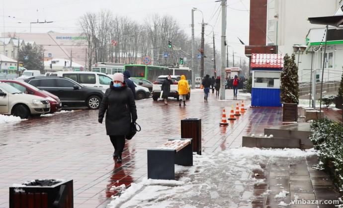 """""""Нам треба перетерпіти ще один день деньок"""": синоптики прогнозують на Вінниччині мокрий сніг"""