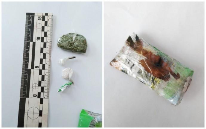 """У психолога """"Літинської виправної колонії"""" знайшли наркотики (Фото)"""