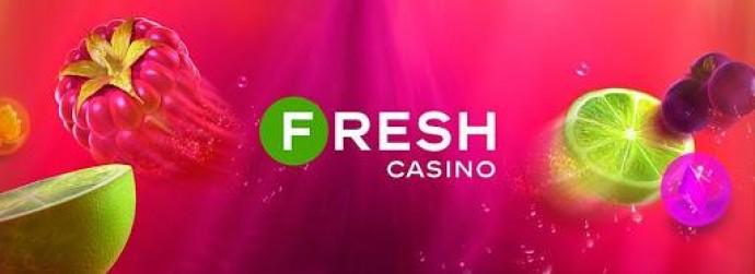 Fresh Casino - по-настоящему бодрящее онлайн-казино