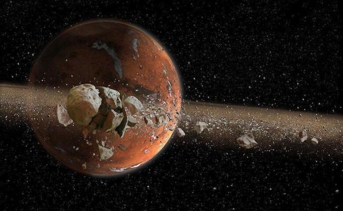 Древній Марс був покритий річками і озерами, який зігрівали крижані хмари