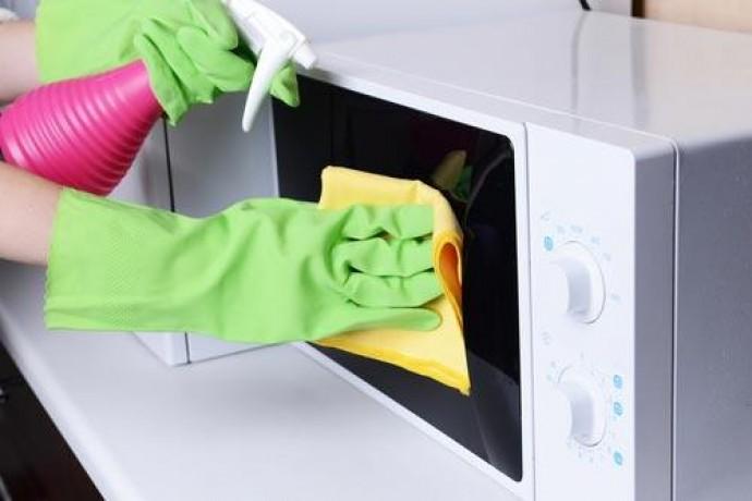 Чистка мікрохвильовки в домашніх умовах