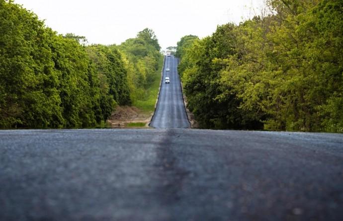 На Вінниччині активно будують обіцяну Зеленським трасу до Молдови (Фото)