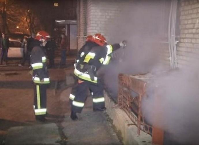 У Вінниці загорівся підвал житлового будинку. Є постраждалі