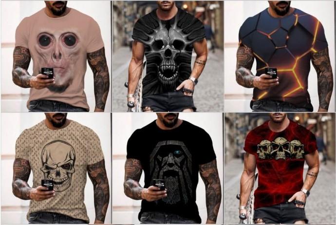 Мужская футболка - незаменимая часть гардероба, которая подчеркнет индивидуальность каждого