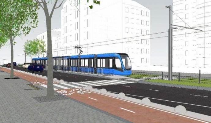 У Києві облаштують маршрут трамвая, який з'єднає Залізничний вокзал та Палац спорту