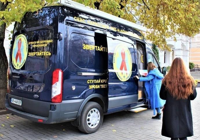 У Вінниці безкоштовно перевірятимуть на гепатит та ВІЛ-інфекцію