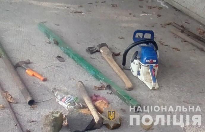 На Вінниччині «чорні лісоруби» погрожували вбивством поліцейським
