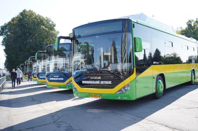 Розклад руху нових автобусних маршрутів у Вінниці, на яких курсуватимуть турецькі Otokar
