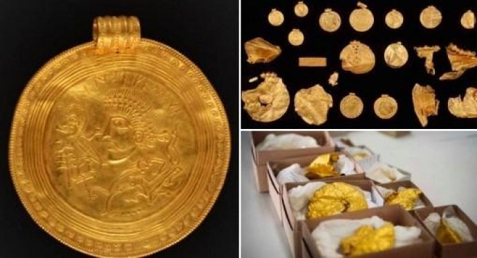 Золотий скарб вікінгів віком 1,5 тис. років знайшов археолог-любитель в Данії