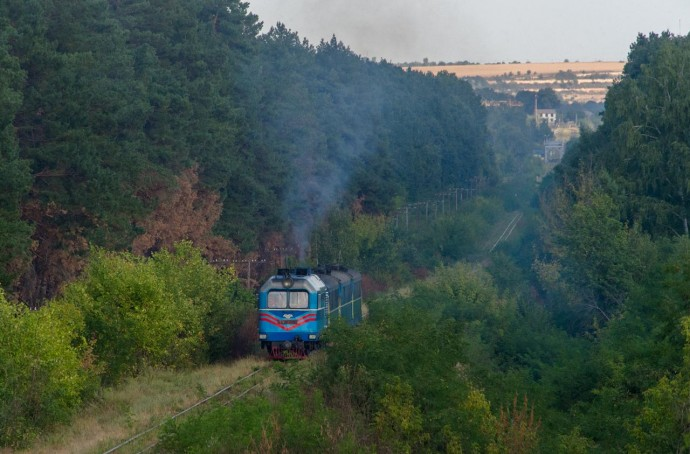 Між Вінницькою та Кіровоградською областями відновлюють рух поїзда на вузькоколійній залізниці