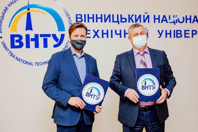 Вінницький університет співпрацюватиме з ІТ-компанією із Кремнієвої долини (Фото)