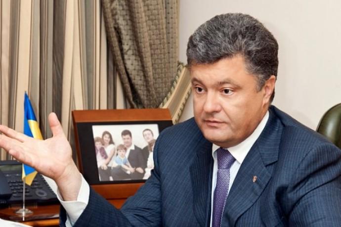 Порошенко выдвинули в президенты на Народном вече в Виннице