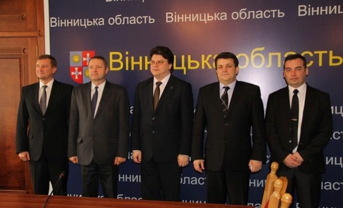Вінницю відвідав Міністр молоді та спорту України
