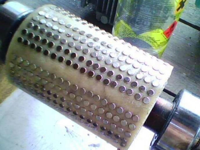 Асинхронный двигатель на магнитах своими руками