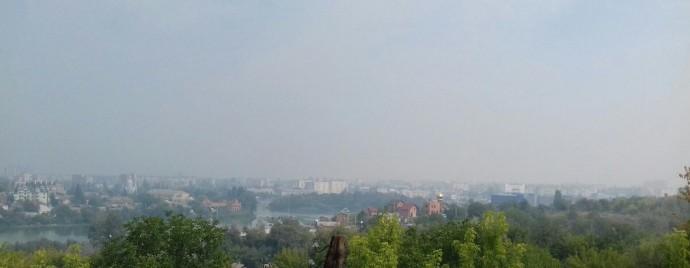 Чому Вінниця з самого ранку в диму?