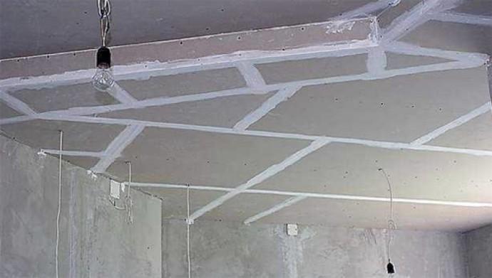 Как самому сделать потолок из гипсокартона фото 915