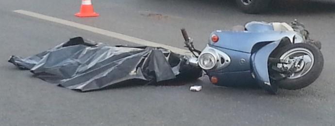На Вінниччині скутерист загинув у ДТП