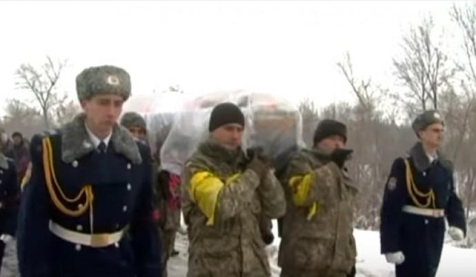 На Вінниччині попрощалися з бійцем АТО, якого вбили диверсанти (Відео)