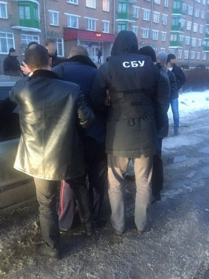 На Вінниччині СБУ затримала підполковника-перевертня (Фото)