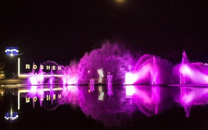 Змінилася дата відкриття фонтану Рошен у 2017 році