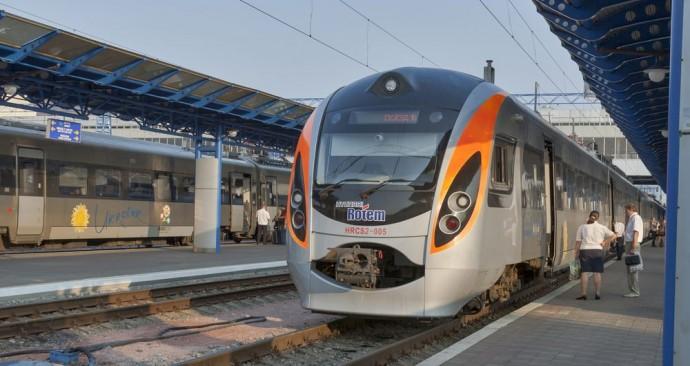 Новий потяг класу «Інтерсіті» Київ-Тернопіль курсуватиме з3 листопада