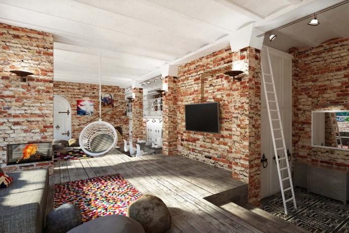 Как оформить квартиру в стиле лофт