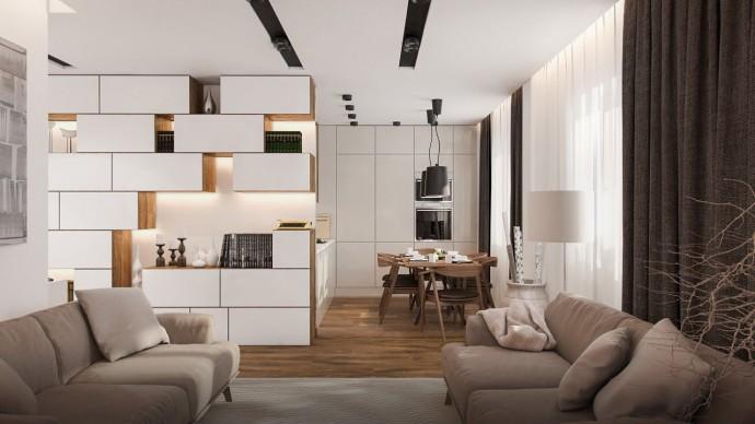 Дизайн интерьера квартиры. Креативные идеи