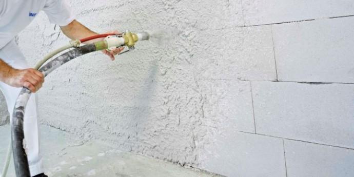 Что такое машинная штукатурка стен - разбор от профессионалов ?